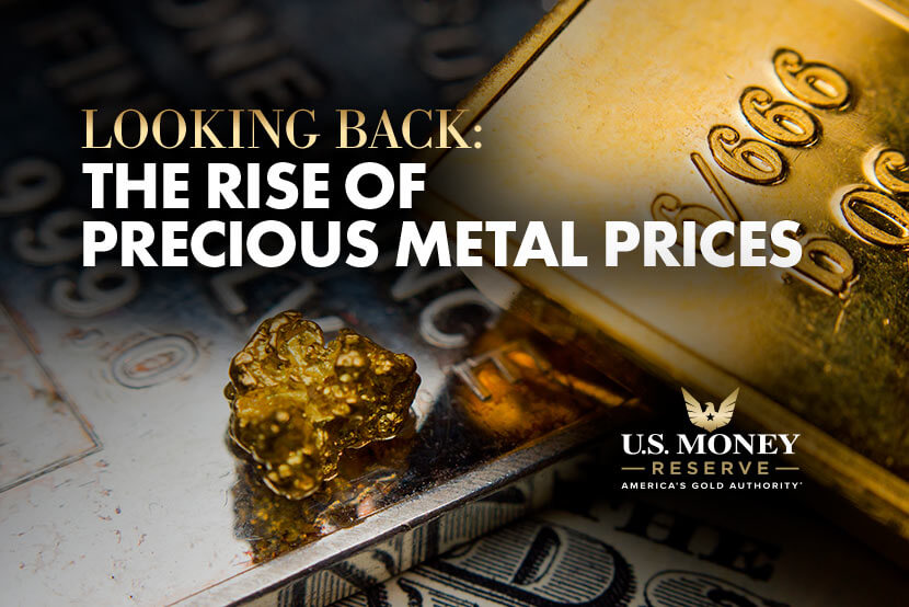 Looking Back: The Rise of Precious Metal Prices